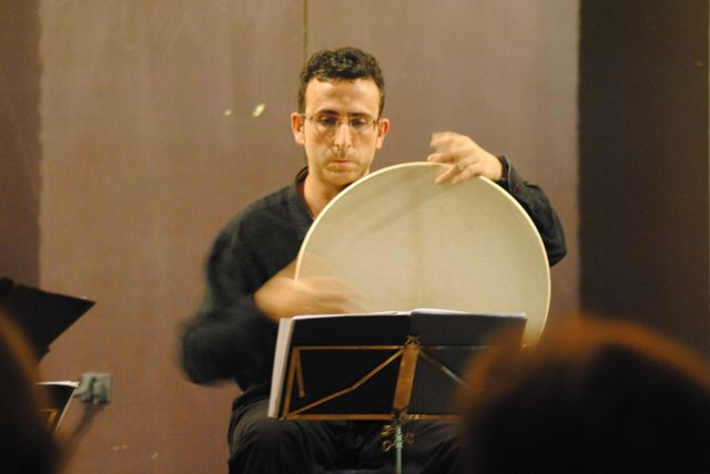 Javier Pulido. Percusión